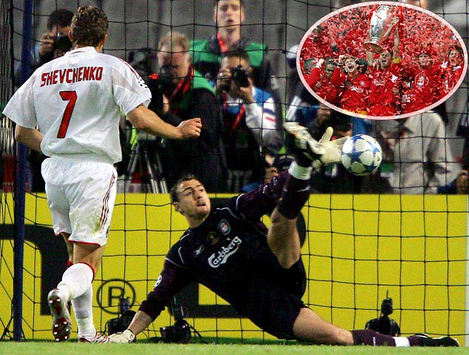 It seemed like an insurmountable advantage when Milan took a 3-0 lead that night in Istanbul. But soccer is an unpredictable game, and Liverpool proceeded to make history, scoring three unanswered goals before prevailing on penalties. Easily one of the greatest games in the history of the sport.