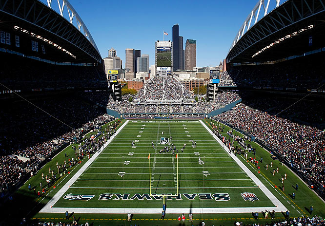 The replacement for the Kingdome, Qwest Field is home to the Seattle Seahawks and MLS' Seattle Sounders, and the loudest 12th man in the country. Hands down the noisiest stadium in the NFL, Qwest gives the home team a decided advantage as screaming fans famously cause countless false-start penalties on the opposition. In 2004, the New York Giants committed 11 false-start penalties in a loss, attributed as much to the people in the stands as those on the field.