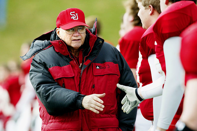 <i>SI</i>'s Austin Murphy wrote a book titled <i>The Sweet Season</i> about Gagliardi that should be required reading for anyone looking to break into coaching. It details the innovative methods of Gagliardi, the longtime coach at St. John's University in Collegeville, Minn. Gagliardi's crowing moment was breaking Eddie Robinson's record with his 409th victory, which came during a season when he guided St. John's to the NCAA Division III national title.