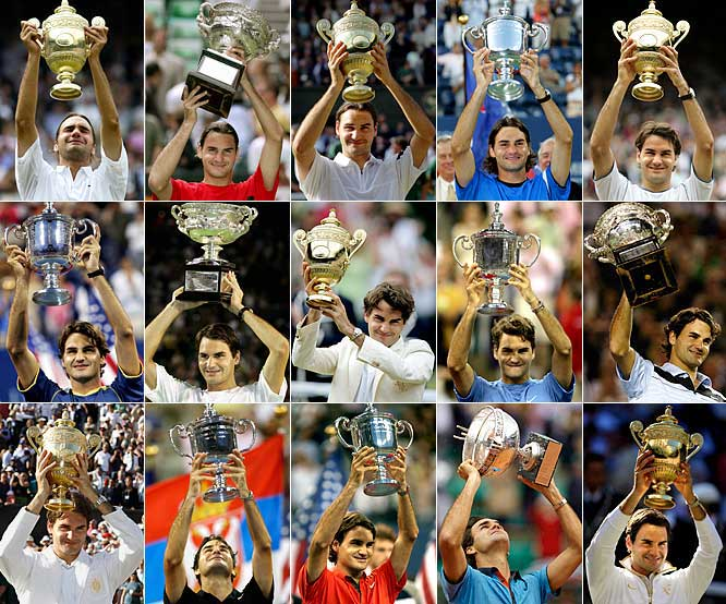 "Just when it seemed as if Federer's game was in decline, when you had to wonder if Pete Sampras' record of 14 majors would go unbroken by the Swiss star, Federer won the 2009 French Open, the only major he had yet to win. Then he took Wimbledon as well, defeating Andy Roddick in one of the most dramatic finals in Wimbledon history. As Sampras said after watching Federer break the record: ""He's a legend."""