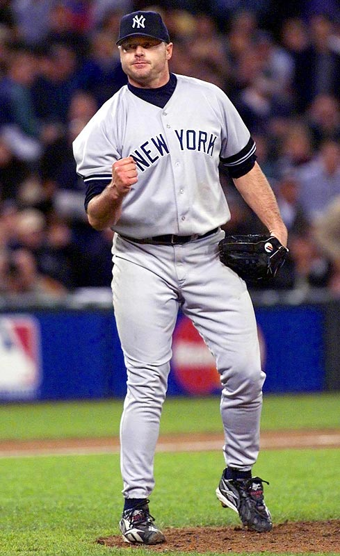 With the Yankees leading the Mariners 2-1 in the series, Clemens turned in a dominant performance, allowing just a double (by Al Martin) and two walks while striking out 15 and not allowing a runner to reach third base. His resulting 98 Game Score (which measures a pitcher's dominance) remains the highest in postseason history.