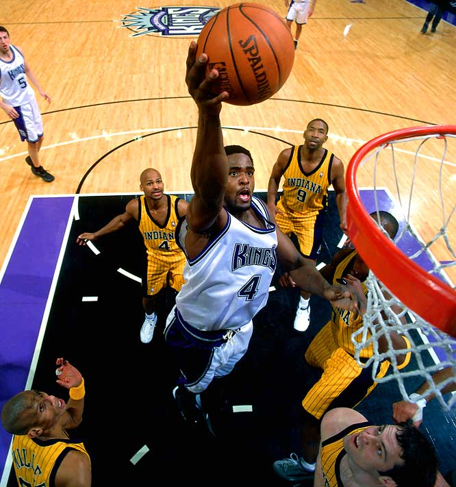 Webber had career highs of 51 points and 26 rebounds in the Kings' 93-91 overtime loss to the Pacers in Sacramento. Webber hit 24-of-47 from the field, though he missed two shots late in overtime and failed to score in the extra period. His performance punctuated a memorable week at Arco Arena that started with Allen Iverson's 46-point outburst in Philadelphia's OT victory and continued with Tony Delk's 53-point explosion in Phoenix's OT loss.