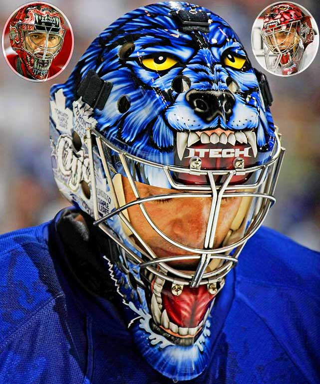 "Joseph was immediately recognizable on the ice for his unorthodox style between the pipes, but perhaps more so for his masks featuring a snarling dog, drawing inspiration from the Stephen King novel ""Cujo,"" which also happened to be his nickname, derived from the first two letters of his first and last names."