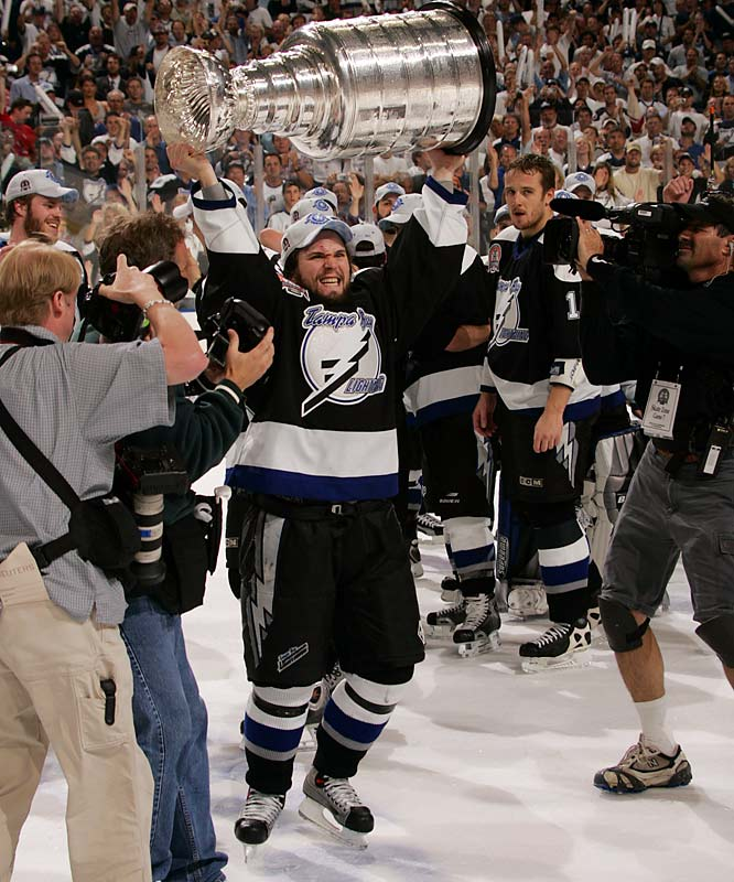 With one playoff appearance (a second-round loss) in their previous seven seasons, the Lightning made a surprising rise to the Stanley Cup, winning a seven-game final against Calgary. More was expected from Vincent Lecavalier, Martin St. Louis and Co. after that, but the 2004-05 lockout intervened and the team hasn't advanced beyond the first round. It failed to make the playoffs in 2008 and 2009.