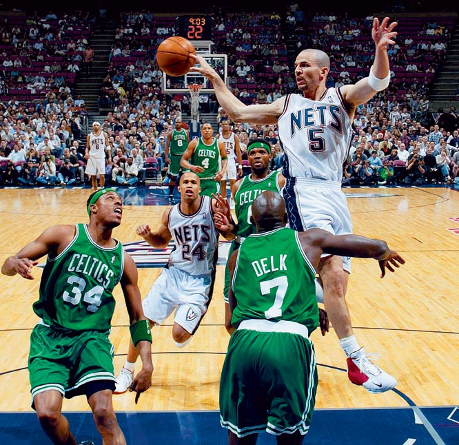 """I consider Jason Kidd the best passing guard in the history of the NBA, and I think this photo illustrates that."""