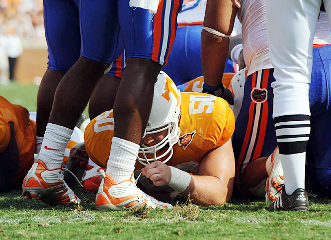 """I was struck by the wonderful sense of humor in the moment during this Tennessee-Florida game."""