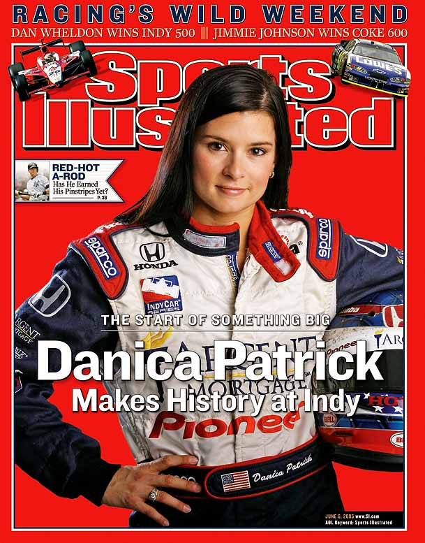 Patrick joined a long list of sports icons to grace the cover of  Sports Illustrated , when she was featured in the summer of '05.