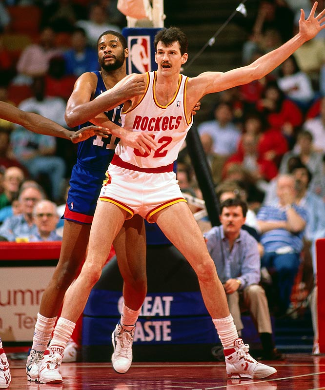 Replacing one of the 50 greatest players with Chuck Nevitt didn't work out so well for a franchise that had been to the NBA Finals only two seasons before. With Moses Malone in Philadelphia helping Dr. J win an NBA title, Houston sank into the NBA abyss quickly as the Rockets lost their first 10 games and didn't improve much thereafter.
