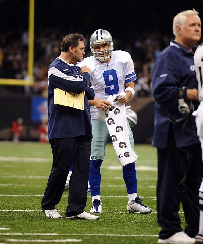 For all the talk about the Cowboys not being able to win big games, Romo has now taken down a 13-0 Saints team (2009) and a 10-0 Indianapolis squad (2006).