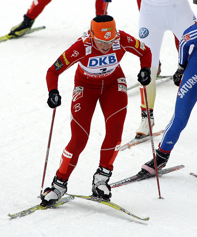 In 2007, Randall became the first U.S. female to win a World Cup race in cross-country skiing. In the last two seasons, she's overcome a severe blood clot in her left leg and a case of shingles before the world championships in the Czech city of Liberec. Despite her illness there, she won a silver medal in the individual sprint, the best finish ever for a U.S. woman at the worlds or Olympics.