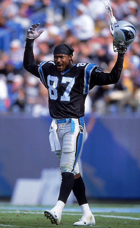 In 2002, the Panthers' receiver was arrested on weapons charges after police found two 9-mm handguns when he was pulled over for speeding.  The charges came almost 10 years after he was found in possession of a gun while at Michigan State.