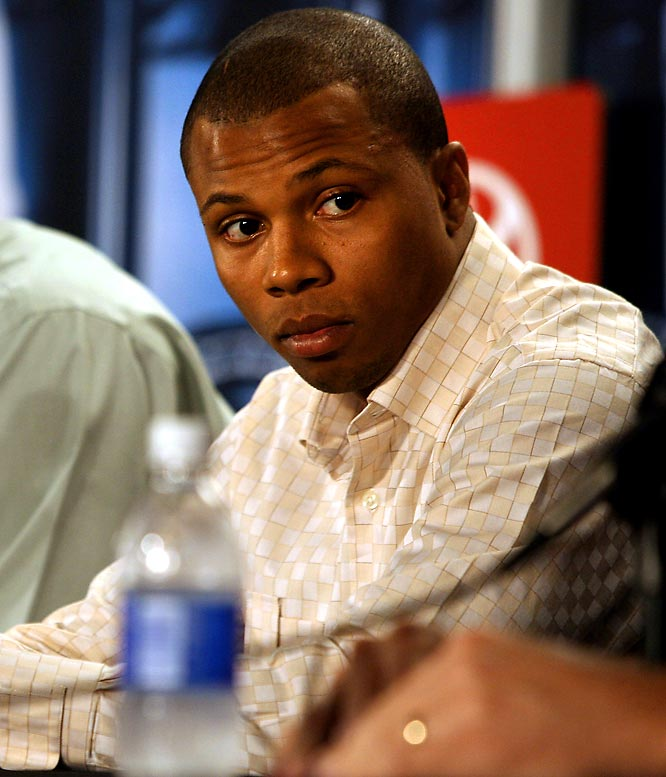 Telfair, then with the Celtics, was stopped in April 2007 after getting caught driving 77 mph in a 45 mph zone. Not only was Telfair driving with a suspended license, but he also had a loaded .45-caliber gun resting under the passenger's seat. In September 2008, Telfair pleaded guilty to possessing a firearm and got three years' probation. The next month, the league handed him a three-game suspension and $50,000 fine for violating the collective bargaining agreement.