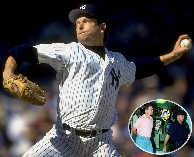 In June 1996, two days after being released by the New York Yankees, embattled pitcher Steve Howe was arrested at Kennedy Airport for carrying a loaded .357 Magnum pistol in his bag.