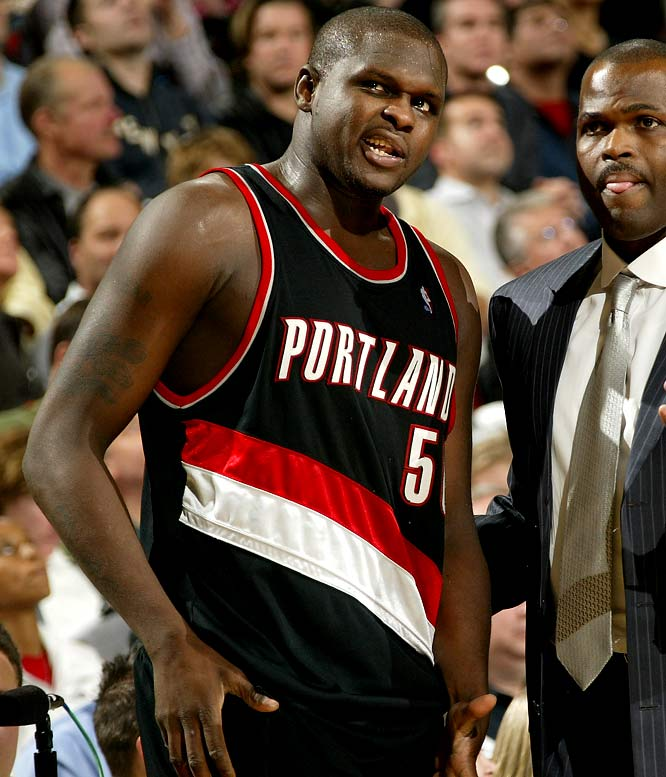 In 2006, the then-Trail Blazer was cited for drag racing in the streets of Portland. When police gave Randolph a speeding ticket, they found marijuana and loaded guns in his car.