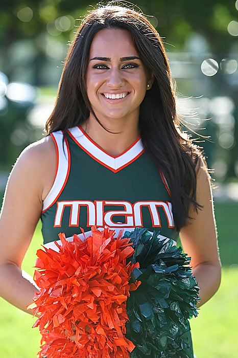 Nicky Diaz is a Senior at University of Miami. She is a big James Morrison fan and has dreams of moving to Africa for the summer. <br><br>Want to find out more? <br>Click the '20 Questions' link below.