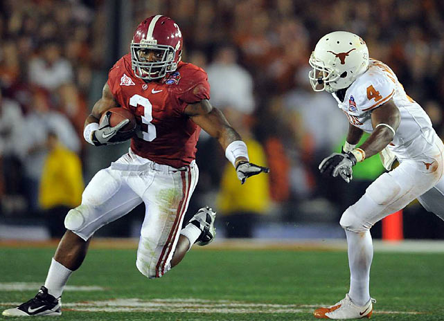 Trent Richardson also scored twice and finished with 109 yards on 19 carries as the Tide finished the season undefeated.