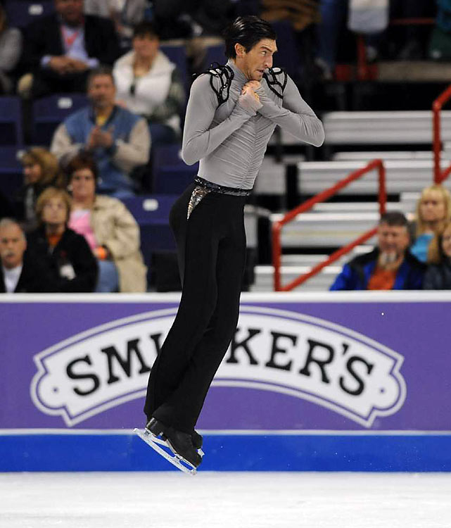 Evan Lysacek finished second and is the United States' best hope for an Olympic gold medal since Brian Boitano won in '88.