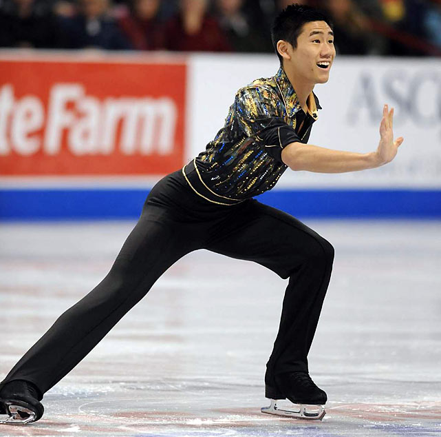 Wong came in 10th place in the free skate and in 10th overall.