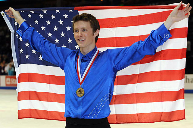 Abbott put on an impressive performance to win his second straight U.S. Figure Skating Championships in Spokane, Wash., and with it a spot on the Vancouver Olympic team.
