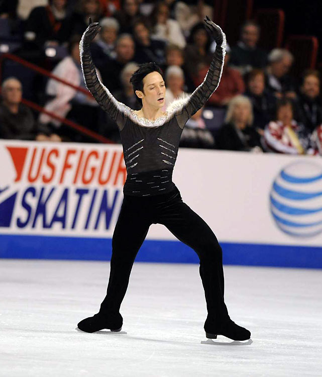 Weir is on his way to the Vancouver Olympics, helping the U.S. form its strongest team since Brian Boitano's days.