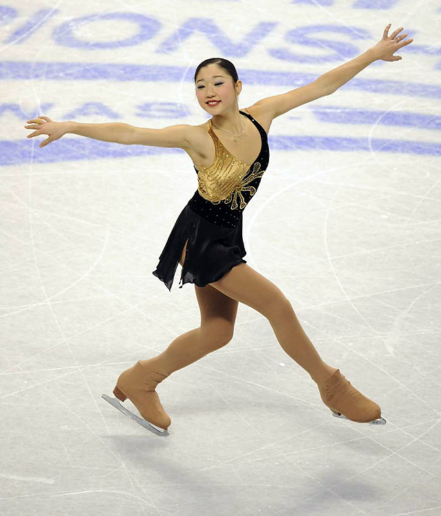 After the short program, Mirai Nagasu was in first place.