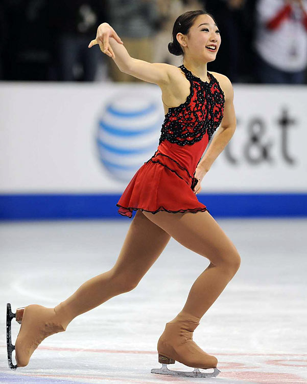 """I'm just excited about all the free stuff we're going to get,"" Nagasu said. ""I hope a medal will come, too."""