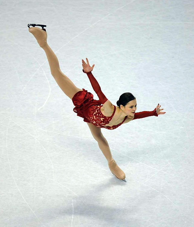 Sasha Cohen nailed her short program but had too many errors in the long.