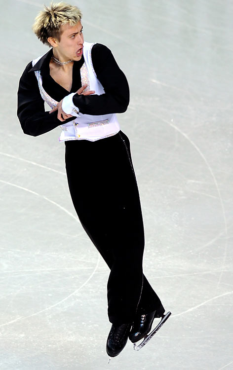 After watching the 1998 Olympics as a child, Brezina dreamed of becoming a hockey player, but his father told him he first had to learn how to skate properly. He took figure skating lessons and stayed with the sport, eventually earning a silver medal at the junior world championships in February 2009. The 19-year-old, currently third in the world, has since won his first senior-level Grand Prix medal (bronze in Nagano) and is the reigning Czech national champion.