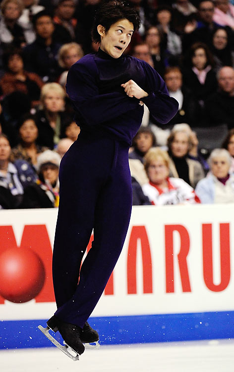The former junior world champion has five Grand Prix medals, including a gold at Skate America in 2008 and silvers at the Final last season and the Rostelecom Cup in Moscow this winter. He is the only Japanese skater in the top ten world standings. His father, Tsuguhiko, a member of his coaching team, competed in the 1968 Games.