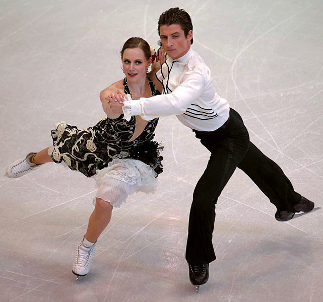 The young skaters (she's 20, he's 22) will be making their Olympic debut on home ice, a nice advantage for the couple who became the first Canadian ice dancers to become junior world champions, in 2006. The pair missed the 2008 Grand Prix series when Virtue's shin surgery sidelined her for three months, but returned to pick up a silver medal in the Four Continents championship and a bronze at worlds (they received gold and silver, respectively, the year before). This season, the third-ranked team in the world solidified their status as contenders with a third straight national title, two Grand Prix wins and a silver medal at the Grand Prix Final.
