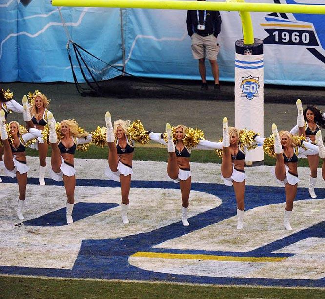 San Diego Chargers Cheerleaders: NFL Cheerleaders: Week 17