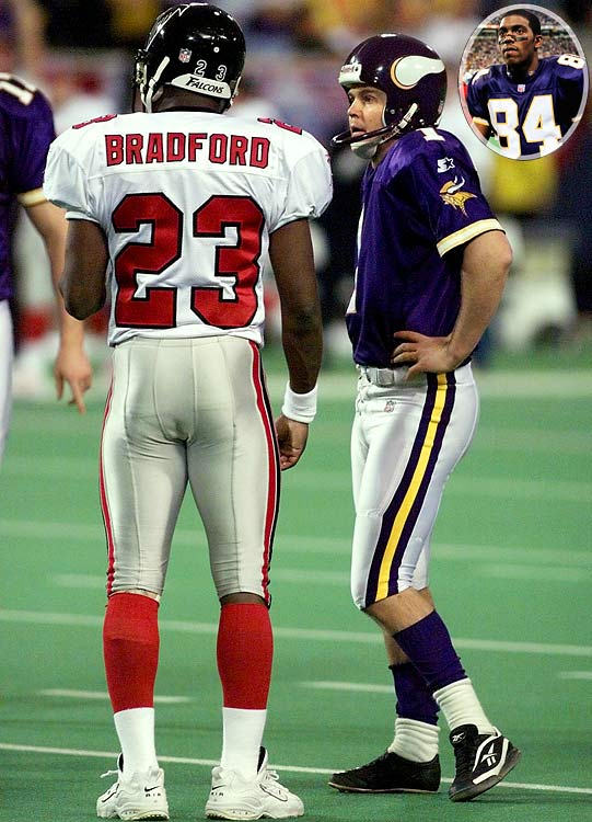No way Gary Anderson would miss. No way. The Vikings were brash and confident and near-perfect in every way, featuring a rejuvenated Randall Cunningham and a precocious rookie named Randy Moss. Until the 2007 Patriots, no team could match the 556 points the Vikes scored. But all they needed was three more to seal a 16-1 season and berth in the Super Bowl. Anderson, who had not missed a field goal all year, missed a 38-yarder wide left. The Falcons capitalized, tied the game, won it in overtime and went on to the Super Bowl instead. <br><br>Send comments to siwriters@simail.com
