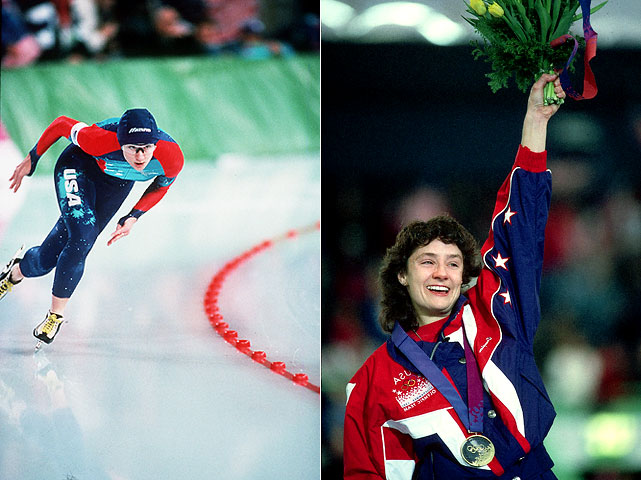 The popular, effervescent speed skater closed out her illustrious career by becoming the most decorated American athlete in Winter Olympics history (five golds, one bronze). In her fourth Olympic appearance, Blair won the women's 500m for an unprecedented third time and tacked on gold in 1,000 as a large group of her Blair Bunch followers cheered her on after flying in from the U.S.