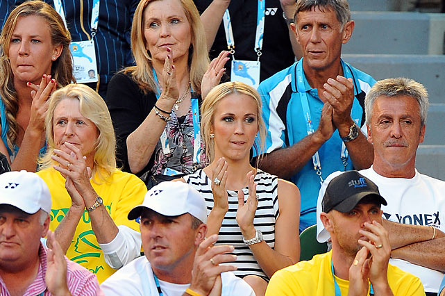Actress/recording artist, Wife of Lleyton Hewitt