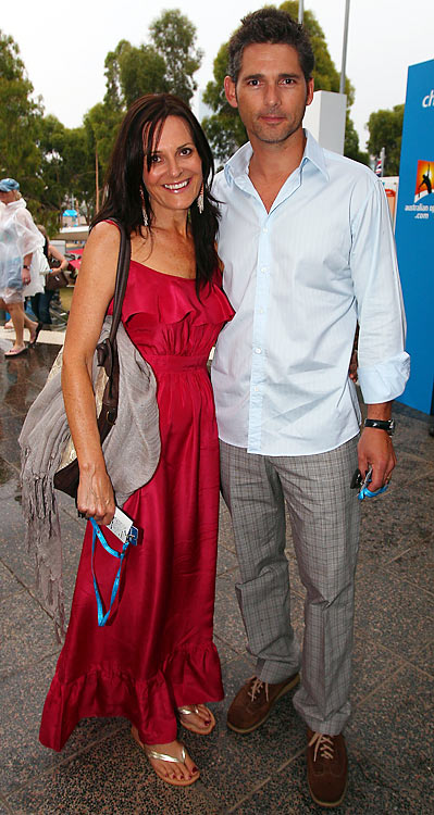Actor (<i>Hulk</i>, <i>Munich</i>), and his wife Rebecca Gleeson