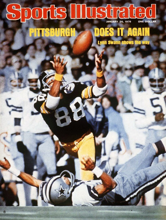 The Steelers win their second Super Bowl in a row as they defeat the Cowboys 21-17 at the Orange Bowl. Lynn Swann sets a Super Bowl record by gaining 161 yards on four receptions and is named MVP.