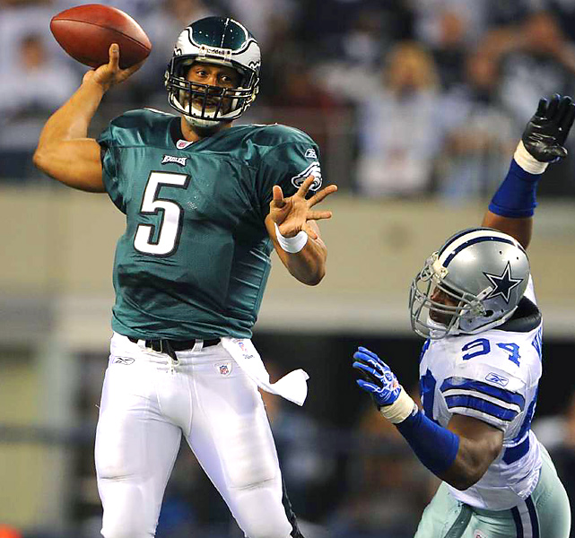 For 11 seasons, McNabb (230 yards passing, 1 TD) has had to endure the highs and lows of Eagles football, while playing in arguably America's harshest sports town. All this begs the question: Will he be wearing green for his 12th NFL campaign?