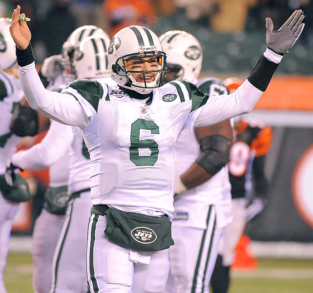 The USC alum (182 yards passing, 1 TD vs. Cincy) is the first quarterback to lead the Jets to a playoff victory since Chad Pennington (January 2005).