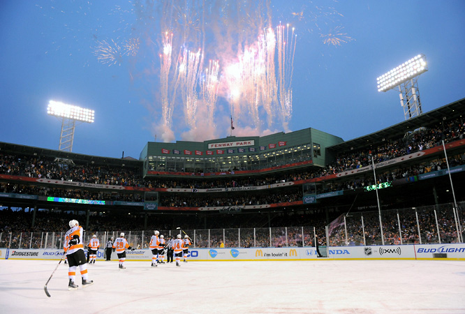 When Marco Sturm scored the game-winner in overtime, the Fenway Faithful exploded, as did the fireworks atop the press box.