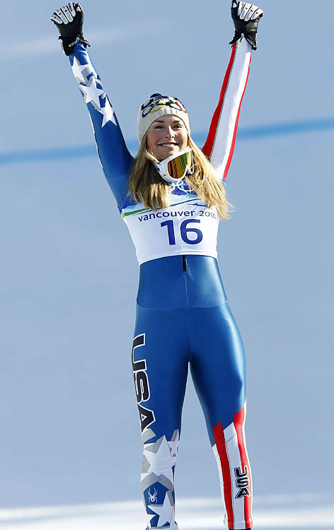 Vonn's crash at the 2006 Turin Games made this moment even sweeter.