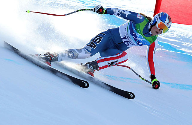 Lindsey Vonn hurt her right shin on Feb. 2 during a pre-Olympic training in Austria. A weather delay gave her extra time to heal before taking the hill on Wednesday in Whistler.