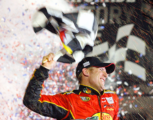Jamie McMurray was the ultimate benefactor of 52 lead changes (including 21 different drivers) and nine cautions on Sunday.