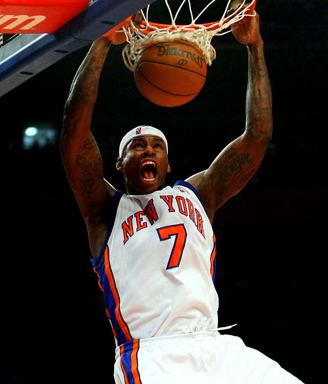 The Knicks are willing to part with their second-leading scorer, who is unlikely to re-sign as a free agent this summer. A Harrington-for-Tyrus-Thomas rumor started in December and resurfaced around the All-Star break.