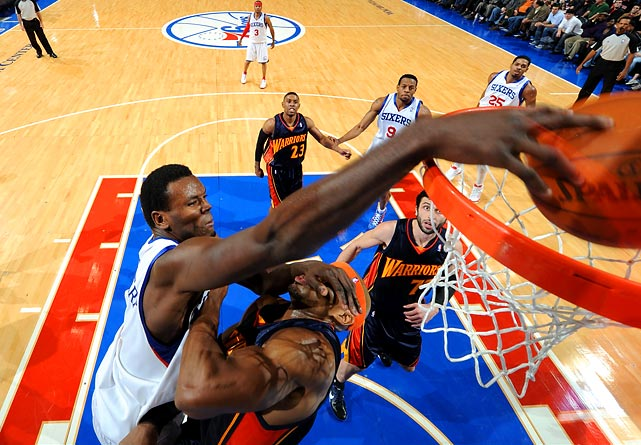 Dalembert has long been rumored as a trade candidate, but his huge contract all but negated that possibility in previous years. He could be more in play now because he has only one more year (at nearly $13 million) on his deal. Dalembert has been the Sixers' starting center since 2003-04.