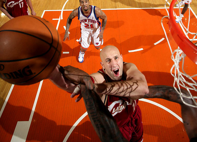Ilgauskas' $11.5 million expiring contract makes him prime bait if the Cavs decide to make a splash before the deadline (he's been rumored as part of a potential Amar'e Stoudemire trade).  On top of that, it's possible that Ilgauskas could still rejoin the Cavs for the playoffs if he negotiates a buyout with his new team and then sits out the required 30 days before re-signing with Cleveland.