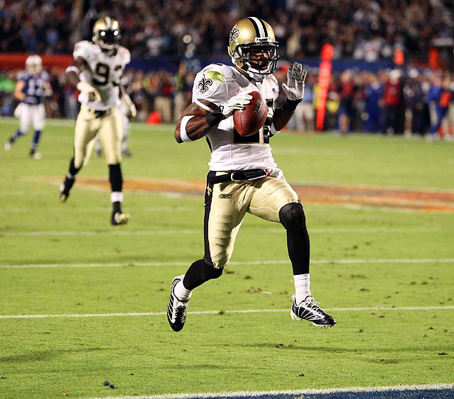 It was Porter who intercepted Brett Favre in the fourth quarter of the NFC Championship game, forcing an overtime that the Saints won.