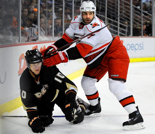 The veteran defender was scratched for Wednesday's game, ramping up speculation that a deal was imminent. It hasn't happened yet -- he needs to waive his NTC and may be looking for a contract extension -- but it could well go down. It's thought that San Jose or New Jersey -- the Devils are looking for an able body to replace Johnny Oduya -- are most likely to land his services. A third-round pick should seal the deal for a player who'll wind up on someone's third pair.