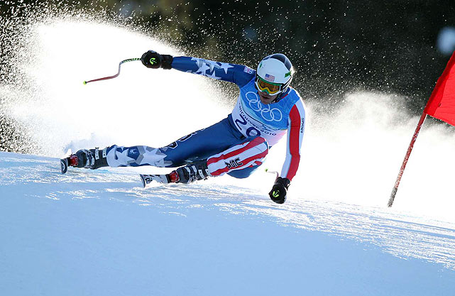Bode Miller now has three medals at these Winter Games and five for his career. The five Alpine medals tie him for the second-most by any man in Olympic history, behind the eight won by Kjetil Andre Aamodt of Norway.