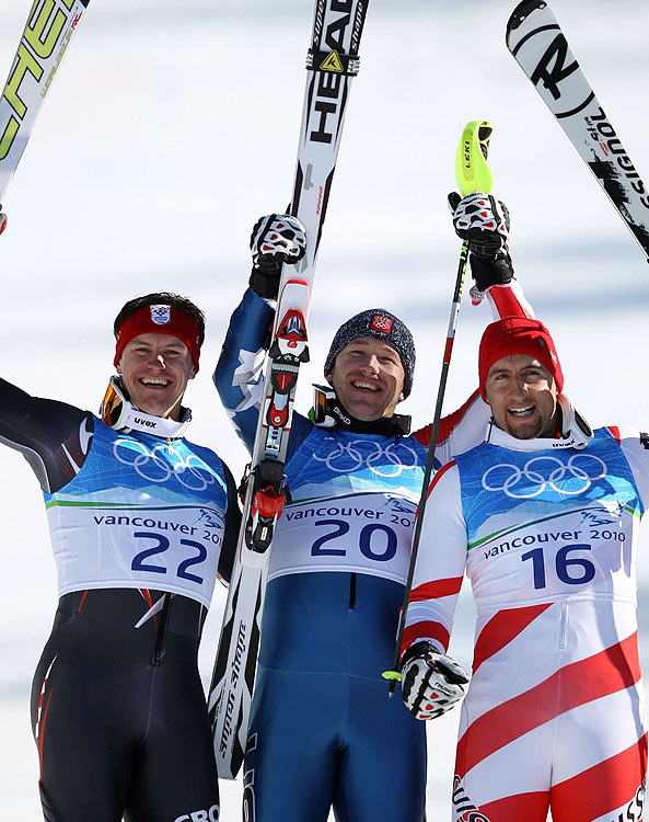 """""""He looks happier, like he's enjoying himself,"""" said Bode Miller's father, Woody. """"That's what I like to see."""""""