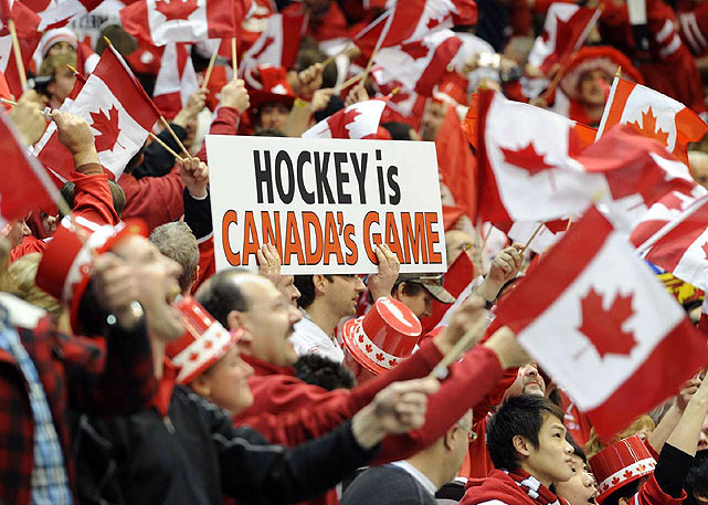 A pro-Canada crowd that came to cheer its dream team, only to see it upstaged by a bunch of unproven kids.